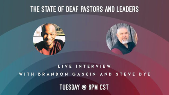 The state of Deaf pastors and leaders