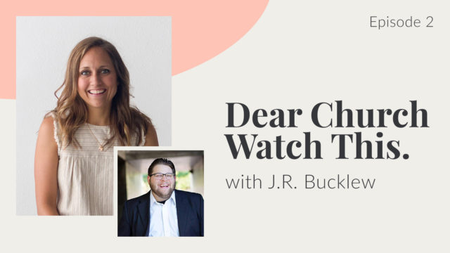 Deafinitely Gospel Centered Episode 2: Dear Church watch this with J.R. Bucklew